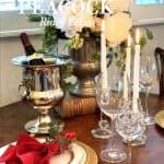 A Romantic Tablescape for Two
